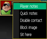 Player notes